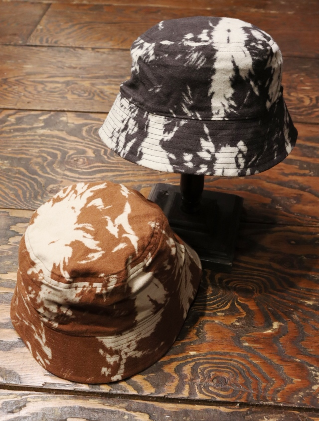 COOTIE  「 Wolf Print Nel Bucket Hat 」  バケットハット