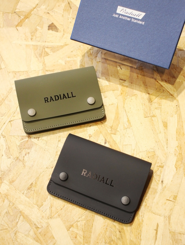 RADIALL    「FROSTED - CARD CASE」  レザーカードケース