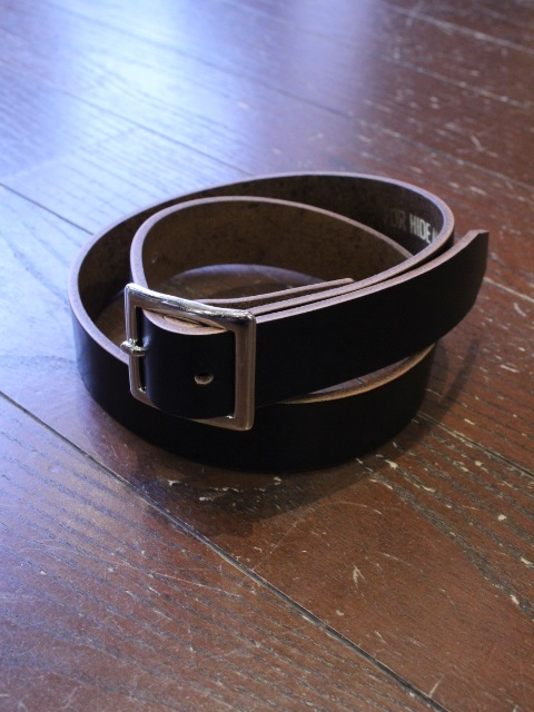 HIDEANDSEEK 「Leather Belt」 レザーベルト