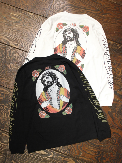SOFTMACHINE  「INKED MESSIAH L/S」 ロングスリーブポケットティーシャツ