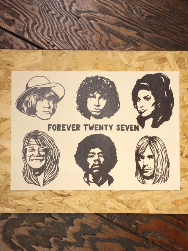 SOFTMACHINE  「TWENTY SEVEN FLASH」 A3サイズ ポスター