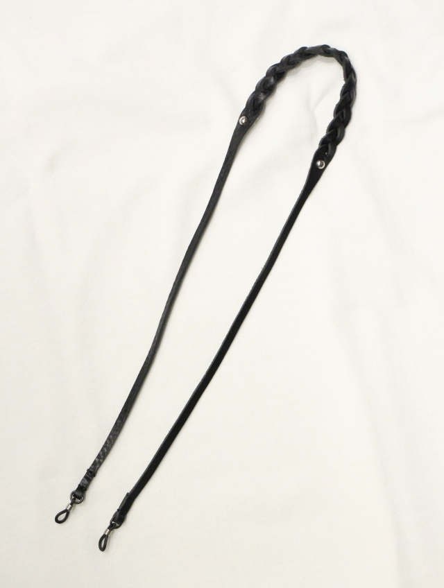 CALEE 「LIMITED LEATHER GLASS CORD」 レザーグラスコード