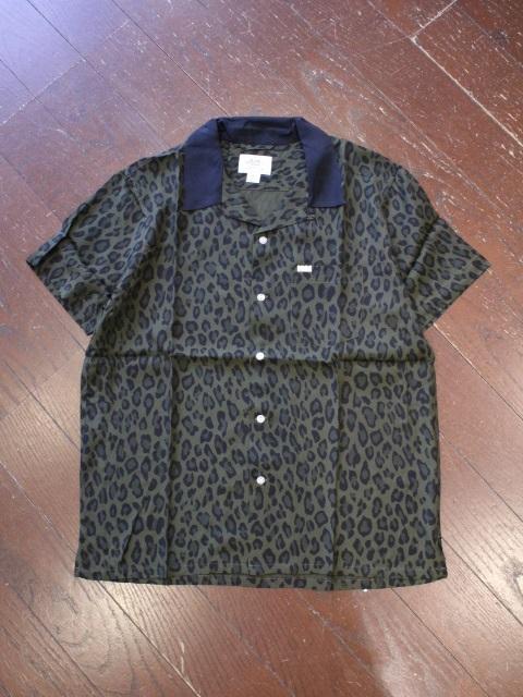 CRIMIE   「LEOPARDO RAYON SHIRT」 オープンカラーレーヨンシャツ