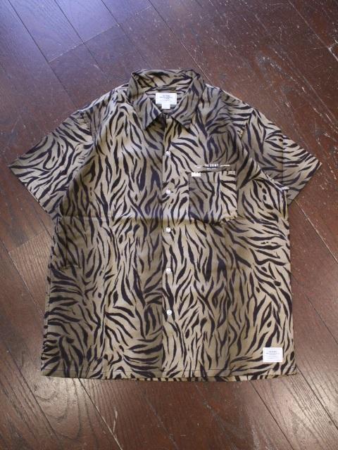 CRIMIE   「TORA GLGB SHORT SLEEVE SHIRT」 オープンカラーシャツ