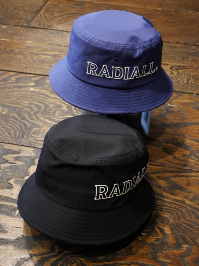 RADIALL  「LOGOTYPE - BUCKET HAT」 バケットハット