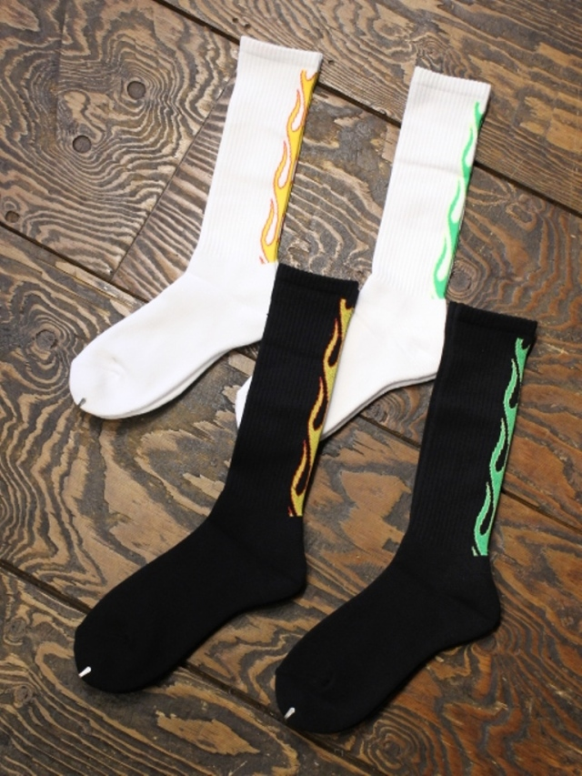 RADIALL    「2PAC SOX - FLAMES」  ソックスセット