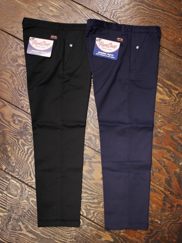 【NEW YEAR ITEM !!】 PORKCHOP GARAGE SUPPLY   「STANDARD WORK PANTS」  チノパンツ