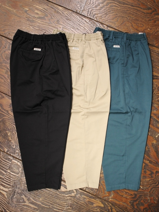 【NEW YEAR ITEM !!】 COOTIE  「 T/C 2 Tuck Easy Pants 」 2タックイージーパンツ