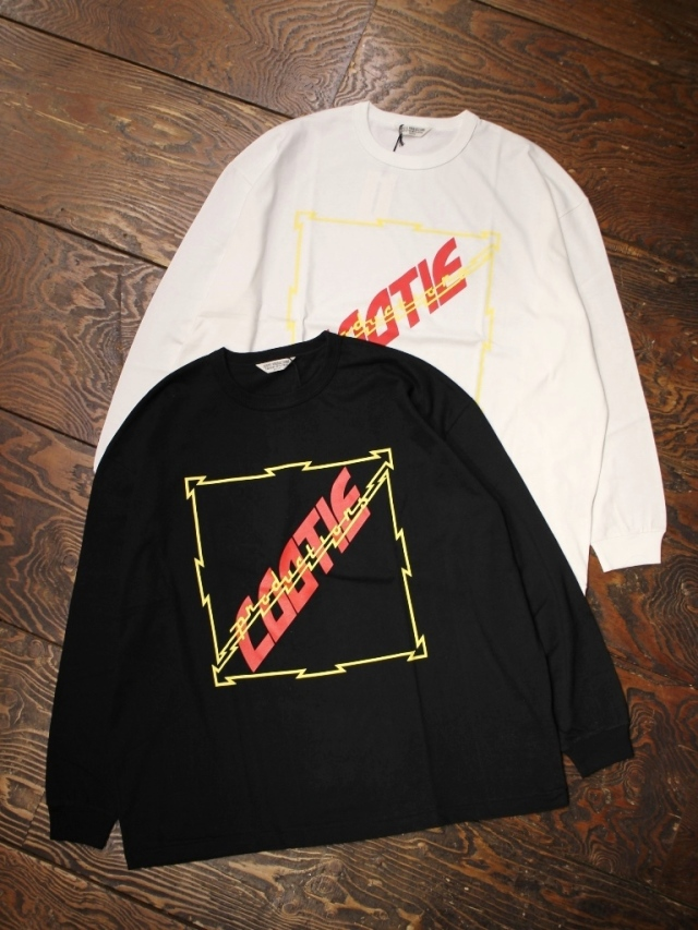【NEW YEAR ITEM !!】 COOTIE  「 Print Oversized L/S Tee (COOTIE) 」 オーバーサイズプリントロンティー