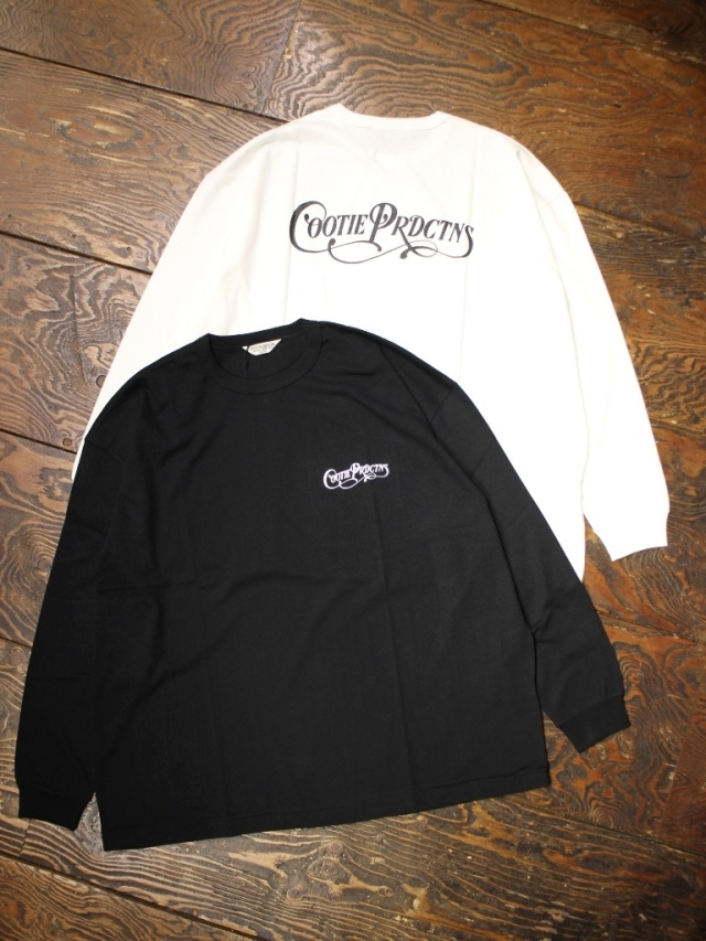 【NEW YEAR ITEM !!】 COOTIE  「 Print Oversized L/S Tee (COOTIE PRDCTNS) 」 オーバーサイズプリントロンティー