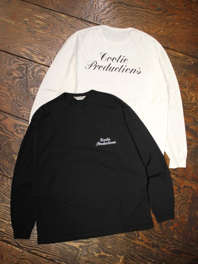 COOTIE  「 Print L/S Tee (TYPE-A) 」 プリントロンティー