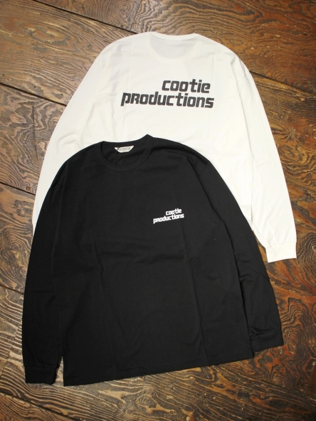 COOTIE  「 Print L/S Tee (TYPE-B) 」 プリントロンティー