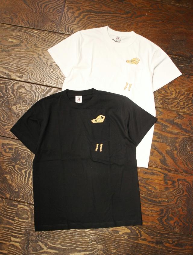 SOFTMACHINE  「VERONICA - T」 プリントポケットティーシャツ