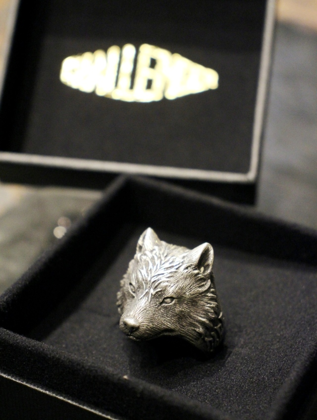 CHALLENGER  「WOLF RING <SILVER925>」  SILVER925製 リング