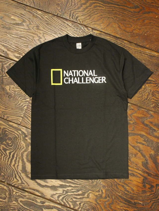 CHALLENGER   「NATIONAL CHALLENGER TEE」 プリントティーシャツ