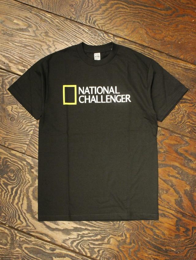 CHALLENGER   「NATIONAL CHALLENGER TEE」 プリントティーシャツ