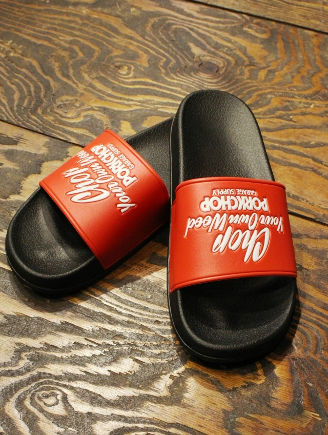 PORKCHOP GARAGE SUPPLY   「 CHOP YOUR OWN WOOD SANDALS 」  サンダル