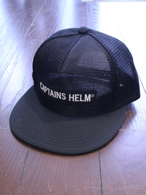 CAPTAINS HELM 「#TRADEMARK ALL MESH CAP」 メッシュキャップ