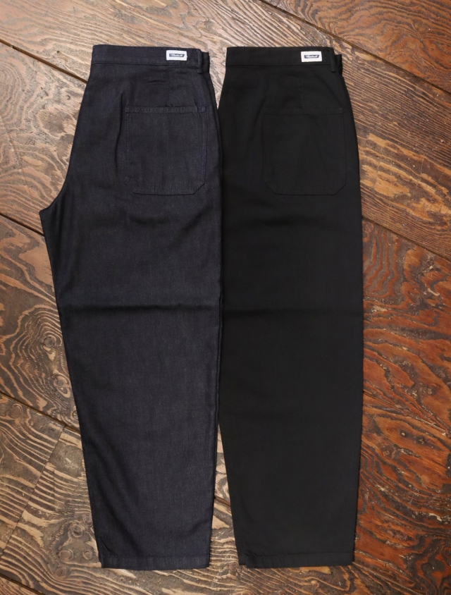 RADIALL   「KEYSTONE - WIDE FIT TROUSERS 」 デニム ワークトラウザーズ