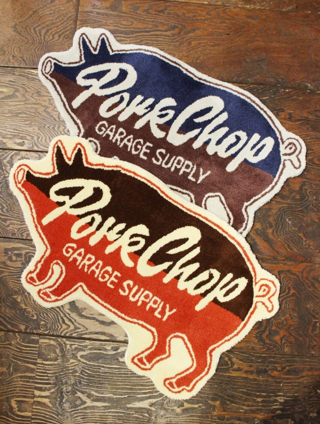 PORKCHOP GARAGE SUPPLY   「PORK RUG」  ラグマット