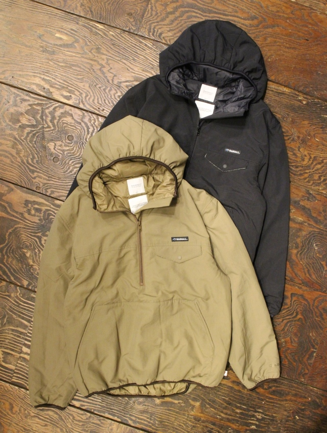 RADIALL  「RED WOOD - PULLOVER PARKA JACKET」  ナイロンプルオーバーフードジャケット
