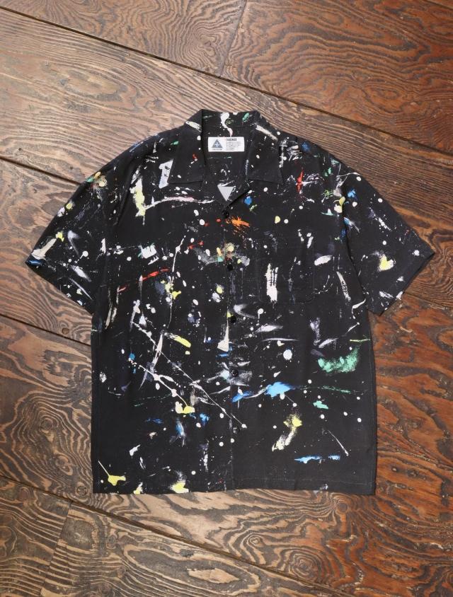 CHALLENGER  「S/S PRINTED SHIRT」  オープンカラーシャツ