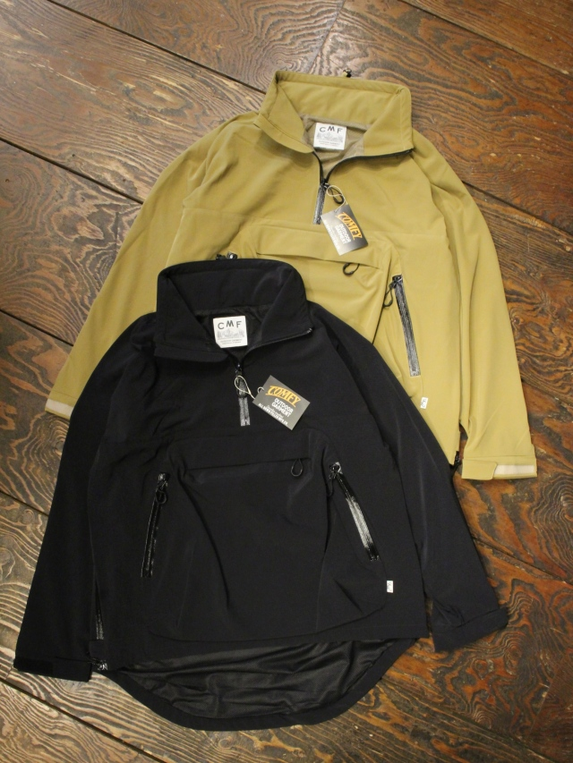 COMFY OUTDOOR GARMENT 「SCALE P/O SHELL」 プルオーバーナイロンジャケット