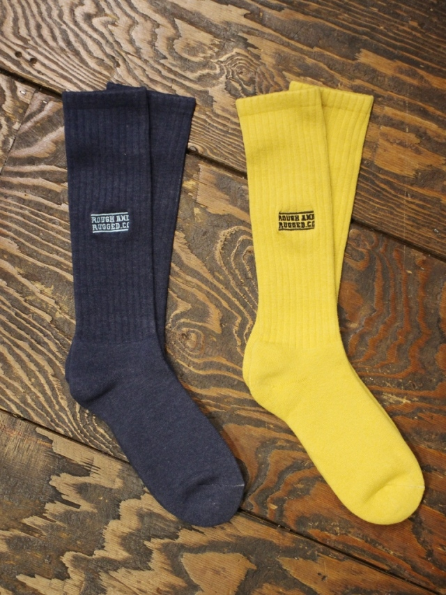 ROUGH AND RUGGED  「DYED SOCKS」 ロングソックス