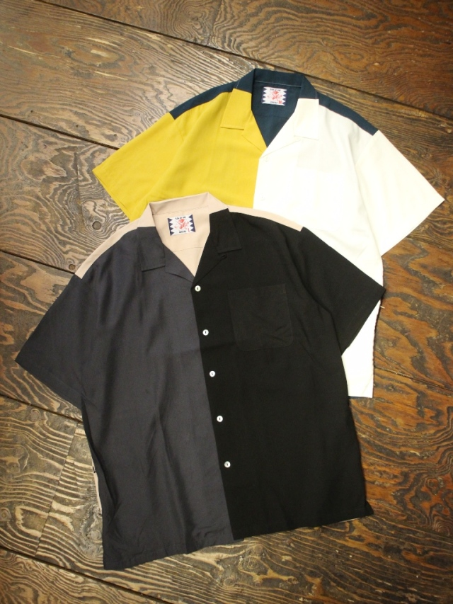 SON OF THE CHEESE  「3 color Rayon Shirt」  レーヨンオープンカラーシャツ