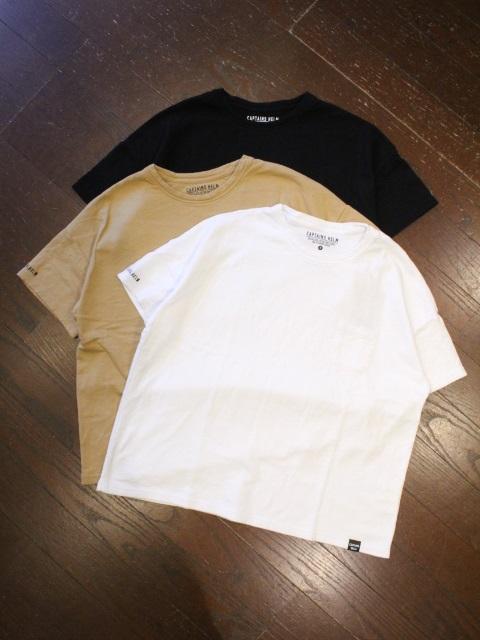 CAPTAINS HELM   「# PLEASURE SEEKER TEE」 ポケットティーシャツ