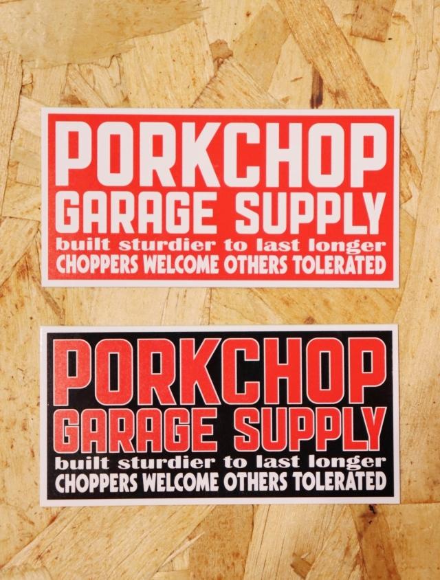 PORKCHOP GARAGE SUPPLY  「SQUARE STICKER SET」  ステッカーセット