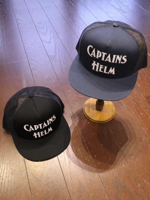 CAPTAINS HELM 「#LOGO MESH CAP」 メッシュキャップ
