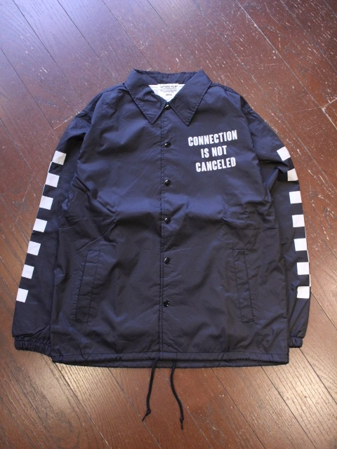 SUNNY C SIDER×CAPTAINS HELM  「#CHECKER LOGO COACH JACKET」 コーチジャケット