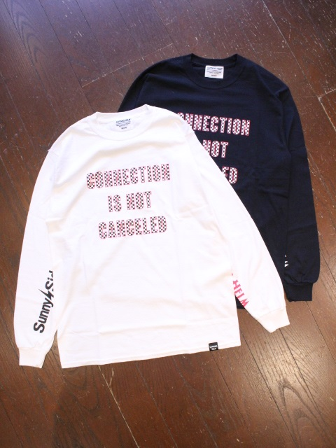 SUNNY C SIDER×CAPTAINS HELM  「#SLEEVE LOGO L/S TEE」 ロングスリーブティーシャツ