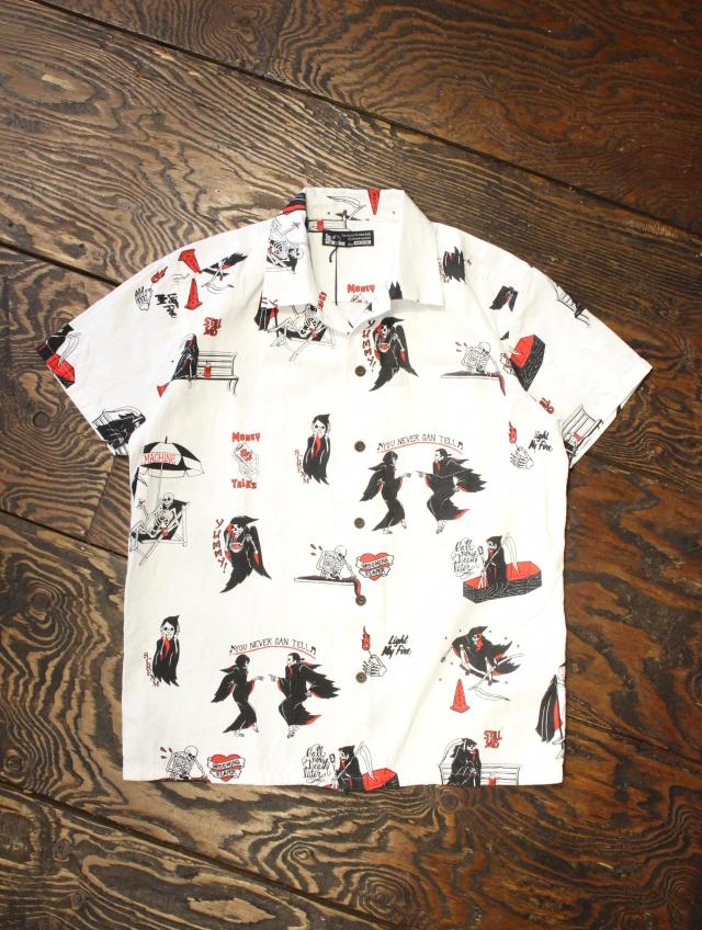 SOFTMACHINE  「CLOAK CAPES SHIRTS」 オープンカラーシャツ
