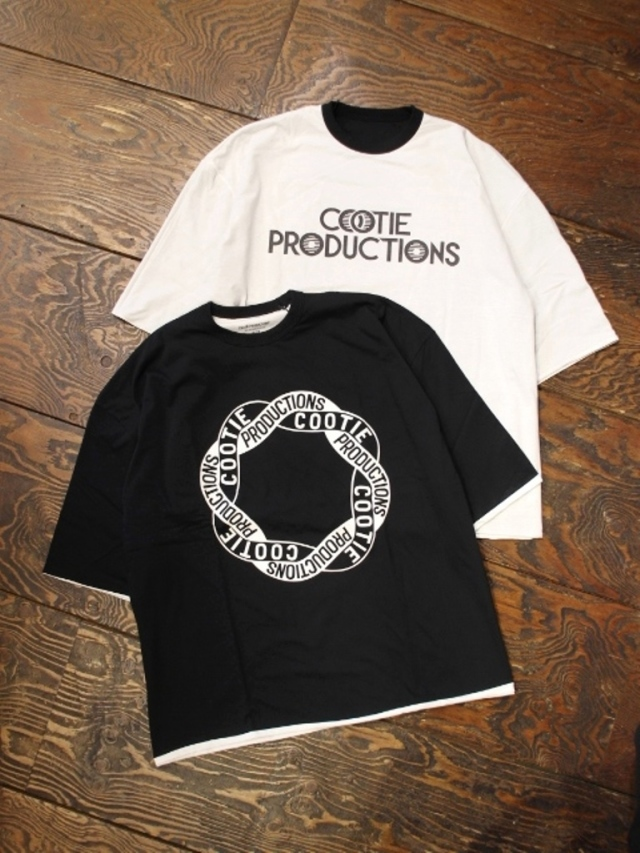 COOTIE  「Reversible S/S Tee」 リバーシブルティーシャツ