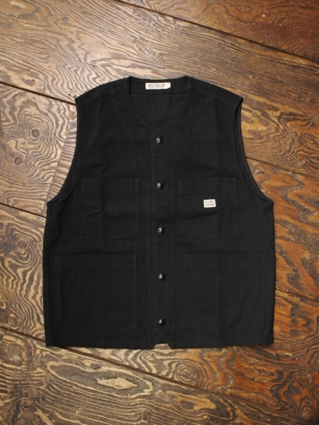 COOTIE  「Rough Twill Work Vest」 ワークベスト