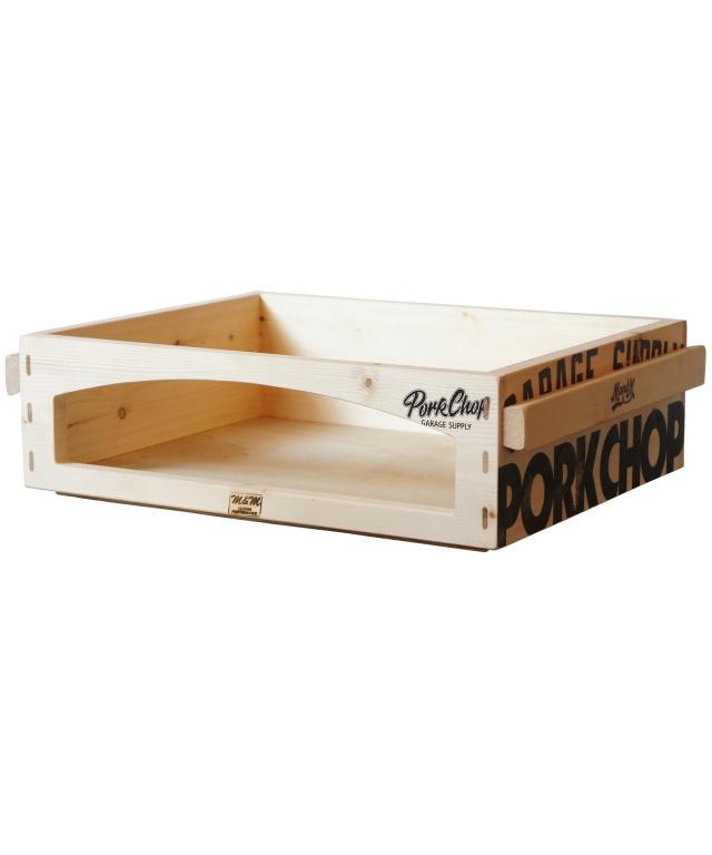 PORKCHOP GARAGE SUPPLY × M&M Custom Performance  「PORK BOX OPEN 〈S〉 」  コンテナボックス