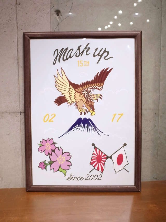 MASH UP  15th Anniversary  「SOUVENIR POSTER (A2)」  A2サイズ スーベニアポスター