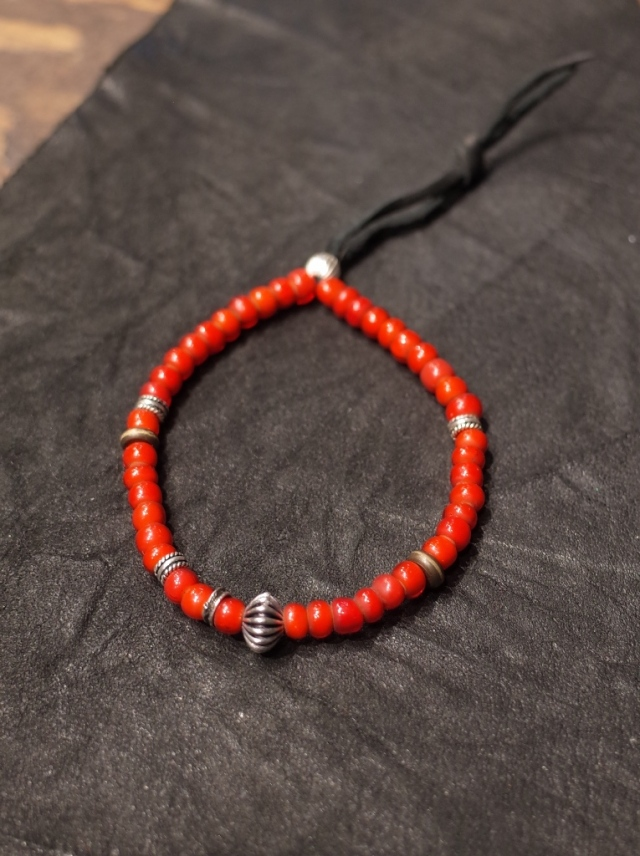 DEXTER  「ANTIQUE BEADS BRACELET 」  ビーズブレスレット
