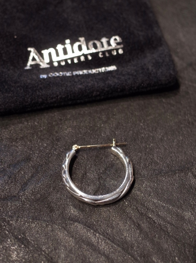 ANTIDOTE BUYERS CLUB by Cootie Productions   「Ornament Earring (Single)」 SILVER950製 ピアス