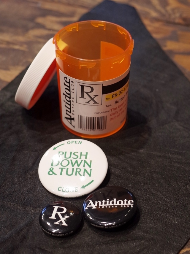 ANTIDOTE BUYERS CLUB by Cootie Productions   「Button Badge Set」 ボタンバッジセット