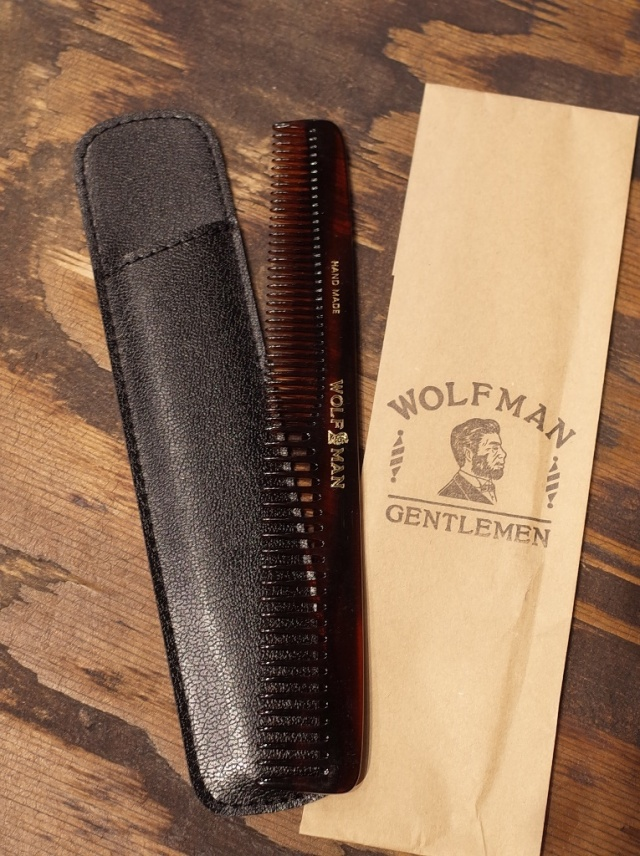 GLAD HAND  「WOLFMAN - HAND MADE COMB<LONG>」  コーム