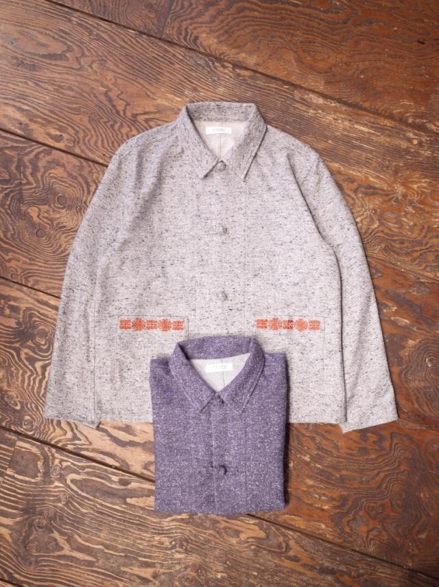 RADIALL  「 MONK OPEN COLLARED SHIRT L/S」 ジャズネップ シャツジャケット