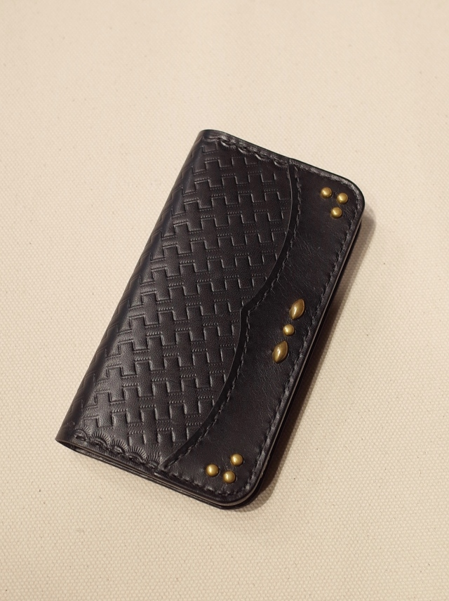 DEXTER  「Leather iPhone Case」 iPhone X 用 レザーケース