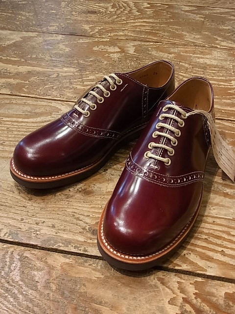 REGAL × GLAD HAND   「SADDLE-SHOES 」 サドルシューズ