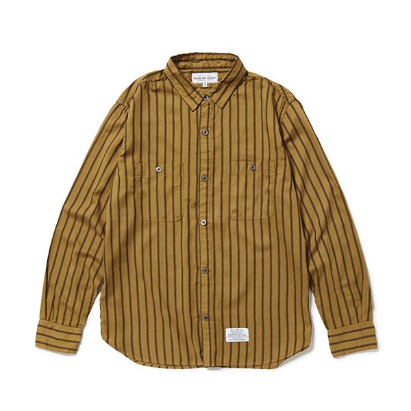ROUGH AND RUGGED  「ROBBERY 」  レギュラーカラーシャツ