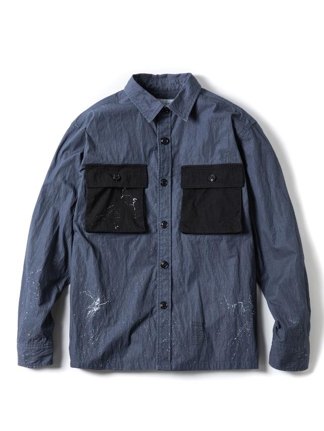 【予約商品:3月入荷予定】 ROUGH AND RUGGED   「VINCET」  ミリタリーシャツ
