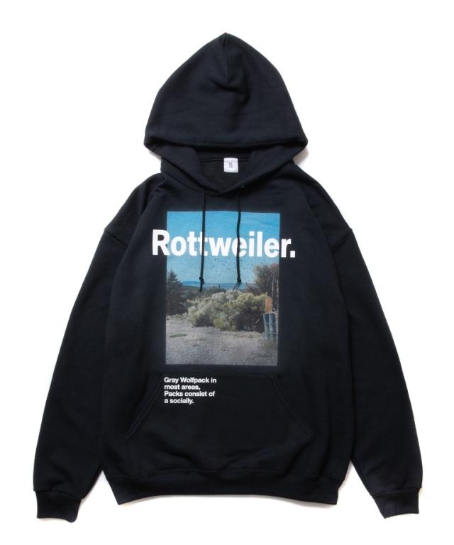 【予約商品:9月入荷予定】 ROTTWEILER  「Desert Photo Parka 」   プルオーバーパーカー