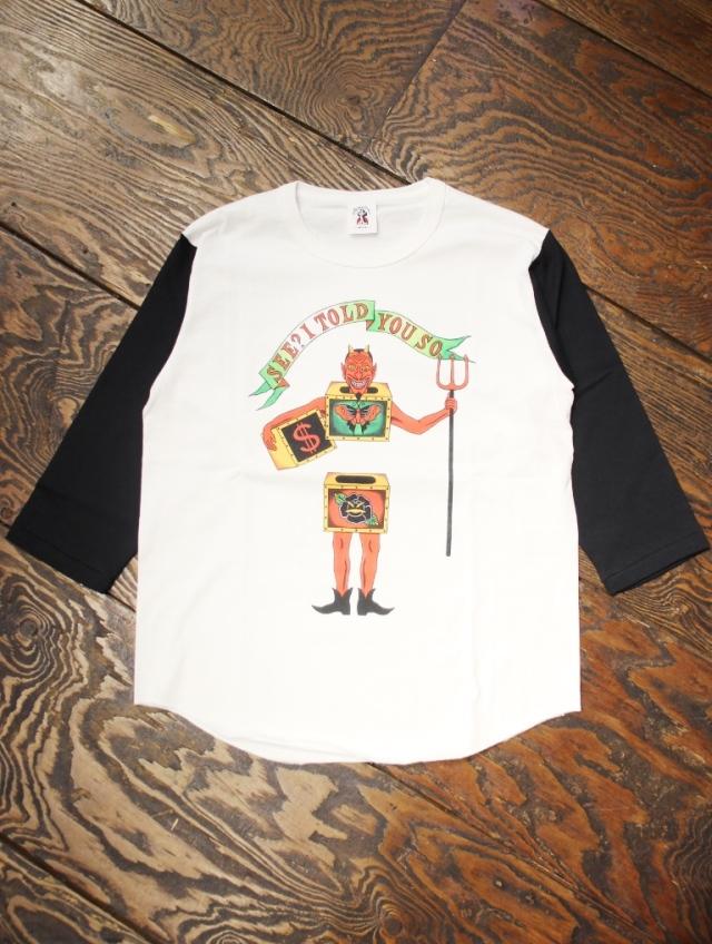 SOFTMACHINE  「WEIRD BOX BT」 7分袖ティーシャツ